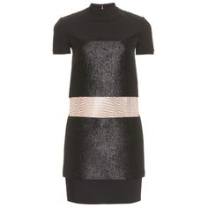 Paco Rabanne dress.  Top and bottom connected with CHAIN LINK (as in fencing). excellent for uber skinny ladies with rock solid abs.  Hi Tara!!! $2242 <--- holy cow that's a lot of cash!!!