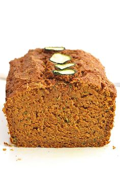 Summer and fall favorites collide in this moist and delicious sweet bread that's loaded with nutritious pumpkin, zucchini and whole wheat flour.