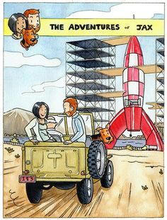 Les Aventures de Tintin - Album Imaginaire - The Adventures of Jax