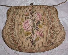 Antique French Silk purse