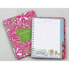lilly pulitzer planner | 2014 Lilly Pulitzer Monthly Planner | Lifeguard Press
