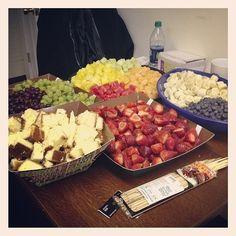 Program:  Come make fruit kabobs