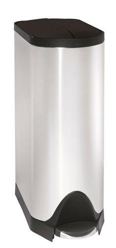 Simplehuman Erfly Stainless Steel Oval Pedal Bin 30l