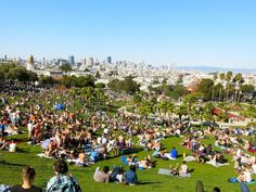 Dolores Park - the hart of Mission District