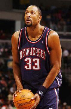 Alonzo Mourning New Jersey Nets
