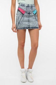 Ziggy High Roller Denim Skirt