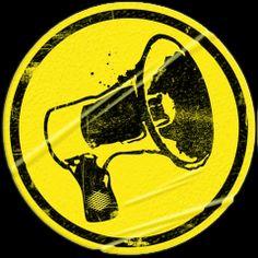 Megafone, símbolo da difusão de ideias.