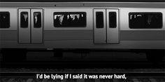 id be lying if life quotes quotes depressive quote dark train gif dark quotes