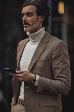 casual mens fashion that is really hot Der Gentleman, Gentleman Style, Casual Look, Men Casual, Mode Costume, Fashion Mode, Fashion Sites, Fashion Outfits, Well Dressed Men