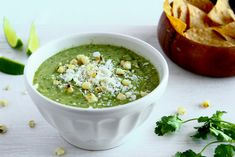 Salsa Verde with Avacado