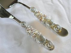 champagne glasses with pearls | ... And Champagne Glass Beads Swarovski Crystal Pearls Cake on Pinterest
