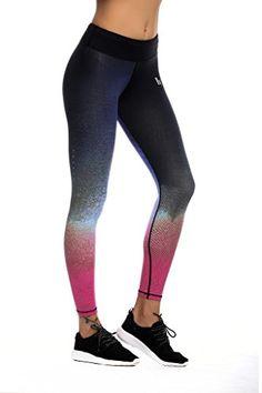 JIMMY DESIGN Damen Leggings Fitness - Star Printed/011 - XL - http://on-line-kaufen.de/jimmy-design/42-44-taille-76-81cm-jimmy-design-damen-leggings-s-m
