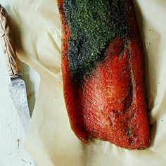 Juniper and Citrus-Cured Salmon