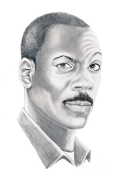 Pencil Portraits - Eddy Murphy by Murphy Elliott ~ traditional pencil art - Discover The Secrets Of Drawing Realistic Pencil Portraits.Let Me Show You How You Too Can Draw Realistic Pencil Portraits With My Truly Step-by-Step Guide. Cool Pencil Drawings, Realistic Drawings, Pencil Art, Art Drawings, Horse Drawings, Drawing Art, Celebrity Drawings, Celebrity Portraits, Pencil Portrait