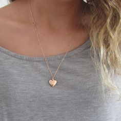 Tiny locket necklace, silver rose gold or 16k gold plated, bridesmaid gift, heart round or oval locket necklace , mother of the bride gift  This elegant necklace features an open heart charm on the side with a choice of heart, round or oval locket. Its available in three finishes, silver plated, rose gold plated or 16k gold plated. Choose from different lengths to custom create your necklace.