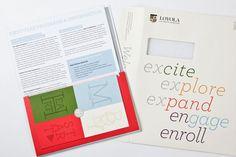 Loyola University Maryland Acceptance Packet...more design inspiration for our materials