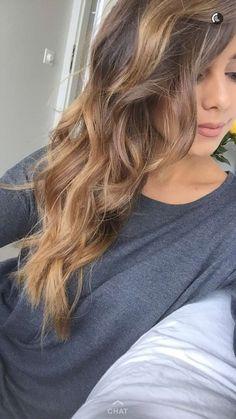 Annie Jaffrey Teen Hairstyles, Medium Hairstyles, Pretty Hairstyles, Haircuts, Medium Dark Hair, Soft Brown Hair, Annie Jaffrey, Mane Event, Color Theory