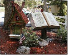 fairy houses, whimsy