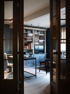 Hus Voksenkollen — Corniche Interior Design China Cabinet, Home Office, Tall Cabinet Storage, Sweet Home, Interior Design, Room, Furniture, Home Decor, Decoration