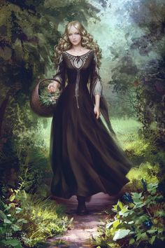 Lady Celebrian, daughter of Galadriel...