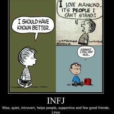 he IS an INFJ! No wonder I always related to him! Infj Mbti, Intj And Infj, Infj Type, Enfj, Infj Traits, Infj Personality, Myers Briggs Personality Types, Thing 1, Myers Briggs Infj