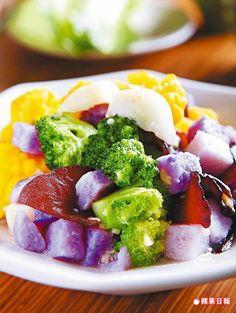 調味清淡,吃得到蔬菜鮮爽滋味。