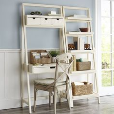 Morgan Antique White Desk | Pier 1 Imports