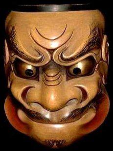 NOH   Beshimi Tengu Noh Mask