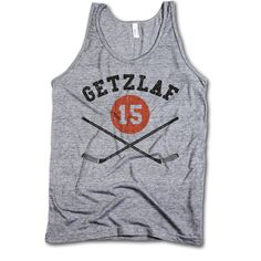 Officially Licensed by NHLPA Sizes available S-XL Men's Tank Tank Top This tank features a nice loose drape perfect for the summer heat or for layering, made from our soft Tri-Blend fabric. Ryan Getzlaf, Phil Kessel, Sticks, Athletic Tank Tops, Tank Man, Fabric, Mens Tops, Cotton, Stuff To Buy