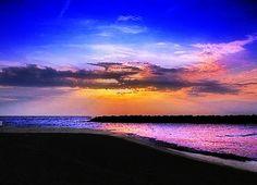 sunset @ Presque Isle State Park