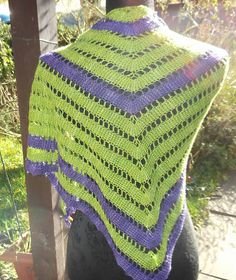 Ravelry: October Leaves Shawl pattern by Katherine Mills