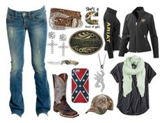 """""""Dodge Cummins Kinda Girl"""" by im-a-jeans-and-boots-kinda-girl ❤ liked on Polyvore featuring GUESS, Ariat, American Eagle Outfitters, MANGO, Giani Bernini, Dan Post, Realtree and country"""
