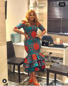 """Today we bring to you Foxy Ankara Styles."""" These Ankara styles are quite awesome, and it's designs are amazing. We believe that you would all be amazed on seeing these foxy ankara styles for Check them out and have a wonderful week ahead. African Fashion Ankara, Latest African Fashion Dresses, African Dresses For Women, African Print Dresses, African Print Fashion, African Attire, African Prints, African Style, Ankara Short Gown Styles"""