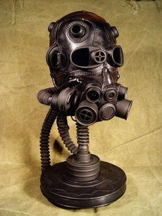 Steampunk Leather Mask   Artist: Bob Basset