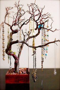 Деревце - отличная идея для хранения украшений SKRMASTER.KZ — Handmade Казахстана