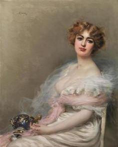 Vittorio Matteo Corcos - Fragilita'! ( 1896 )
