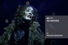 SINGAPORE - JANUARY 13: Performer Erin Cornell plays the character Grizabella for the musical 'CATS' during a media preview at the Marina Bay Sands Mastercard Theatre on January 13, 2015 in Singapore. The musical by Andrew Lloyd Webber, holds the record for one of the longest running musical in West End history playing for 21 years and will make a return to Singapore from January 9 to February 1, 2015.
