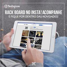 Que tal ficar por dentro das promoções e novidades da Rack Board? Siga @rackboard no Instagram! 😉  #RackBoard #Instagram #Novidades #Promoções #Racks #Esportes #Viagem