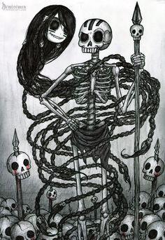 ----------------------------------------Shino Kaori,©scary-PANDAThe Night-scythe,©me