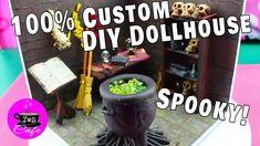 tutorial: miniature witch's workshop