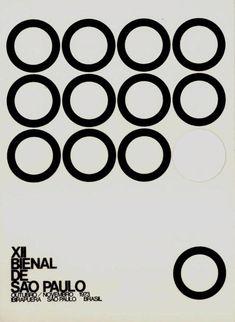"XII Bienal de São Paulo, Invitation postcard for ""Artisti italiani di oggi"" at Bienal de Sao Paulo, October/November 1973"