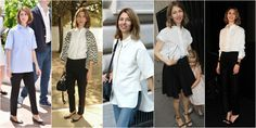 sofia coppola koszula Sofia Coppola Style, French Chic, Style Inspiration, Coat, Jackets, Fashion, Down Jackets, Moda, Sewing Coat