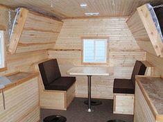 64 Cargo Trailer Camper Conversion Ideas 63