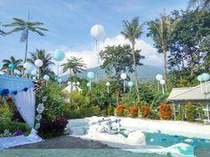 Wedding peach from rumah putih bogor decor by rina rahmadi lampion for wedding decoration junglespirit Gallery