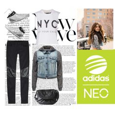 """""""Live Your Style with adidas NEO Label: Contest Entry"""" by patriciemag on Polyvore"""