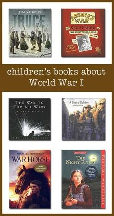 This page lists some of the best World War 1 books for children--covering topics ranging from the causes of the war to life on the battlefield to civilian stories of life during the war. Children's literature books for World History Facts, World History Lessons, History For Kids, Us History, History Books, Modern History, History Memes, History Photos, American History