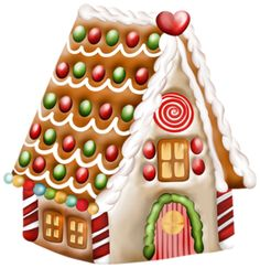 gingerbread house clipart gingerbread house clip art clipart rh pinterest com gingerbread house clip art images gingerbread house clip art black and white