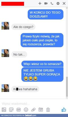 Doszła do tego Funny Sms, Funny Relatable Memes, Wtf Funny, Funny Cute, Funny Jokes, True Quotes, Best Quotes, Polish Memes, Weekend Humor