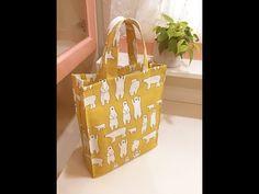 清秀佳人布坊 - 手作教學 -  包邊縫壓線好收納購物袋 - YouTube