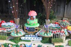Woodland fairy themed party